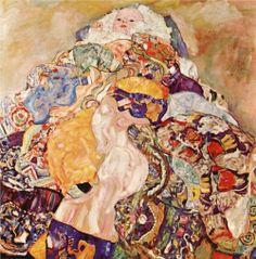 Gustav Klimt - Baby, 1918