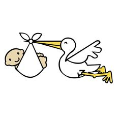 stork baby clipart free graphics of storks delivering babies rh pinterest com stork delivering baby clipart