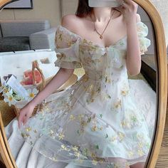 Strapless Party Dress, Ball Gown Dresses, Fancy Dress Short, Floral Lace Dress, Floral Dresses, Fairy Dress, Butterfly Dress, Summer Dresses For Women, Pretty Dresses