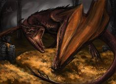 Smaug The Terrible by quinnk.deviantart.com on @deviantART