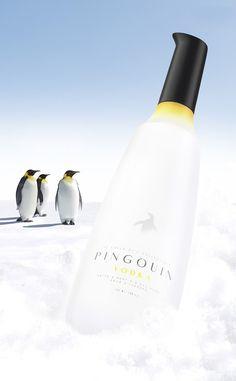 Pingouin Vodka | Design (concept) : Denis Kalinin, Moscou, Russie(novembre 2014)
