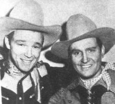 Image result for photos of gene autry and roy rogers together