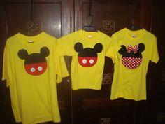 Camisetas mickey