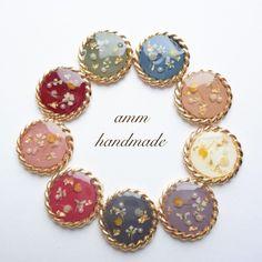 ハンドメイドマーケット+minne(ミンネ)|+mini+flower+*+accessory