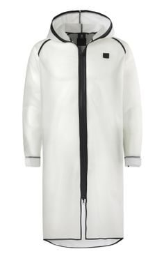 Onepiece Influence Rain Jacket Transparent blanc
