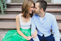 Troy Engagement Photos | Christina & Dan