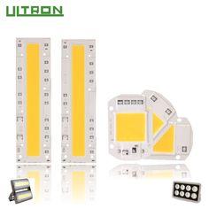 LAN MU LED COB Chip 110V 220V 10W 20W 30W 50W 70W 100W 120W 150W LED Bulb Lamp Input Smart IC Flood Light Spotlight  Price: 3.51 USD