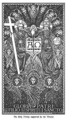 The Holy Trinity Catholic Missal, Catholic Art, Roman Catholic, Religious Art, Religion, Christian Artwork, Christ The King, Christian Symbols, Photo D Art