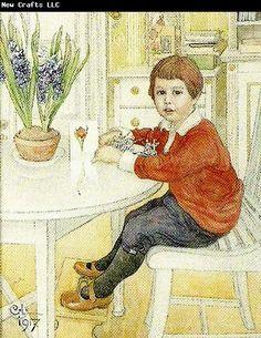 Carl Larsson portratt av lars erik