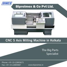 The best manufacturer of CNC 5 axis milling machine in Kolkata and all over India! We are #Biproimex experienced machine manufacturer that builds machines for your future. — at KOLKATA.
