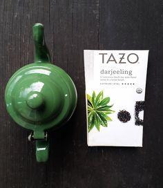 Vintage Small Green Teapot, Enamel Porcelain Single Serving Size Tea; Kitchen Decor by zincfineart on Etsy