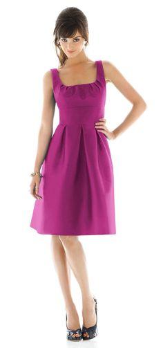 Alfred Sung Bridesmaid Dresses - Style D439 - Peau De Soie   Weddington Way    Weddington Way, $160