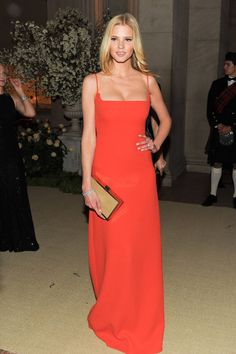 Lara Stone's Sultriest Red Carpet Looks