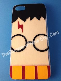"""Mod Podge """"Wizard"""" iPhone 5 Phone Case """"Harry Potter inspired"""". $24.99, via Etsy."""