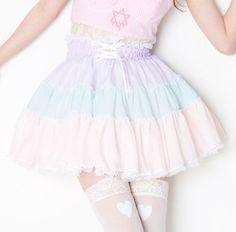 kawaii pastel Asian fashion Japanese Fashion Harajuku amo fairy kei spank! Tokyo Fashion dolly kei Taobao japan fashion