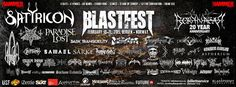 Blastfest shows us that Europe is still the King of metal festivals.