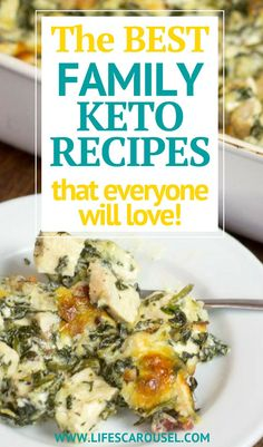 Family Keto Recipes that EVERYONE will love! You want to eat Keto for all the healthy benefits, but your family aren't quite on board yet. Try these family-friendly ketogenic recipes that will have everyone begging for seconds! Paleo For Beginners, Ketogenic Diet For Beginners, Ketogenic Recipes, Diet Recipes, Healthy Recipes, Healthy Food, Shake Recipes, Diet Meals, Easy Recipes