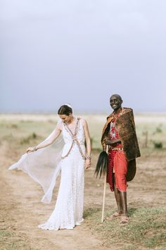 Incredibly Colorful Wedding in Africa by Jonas Peterson