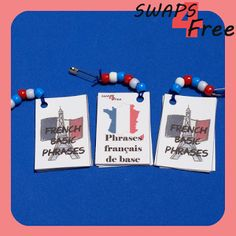 SWAPS4Free: French Basic Phrases Booklet Girl Scout SWAPS - Free Printable