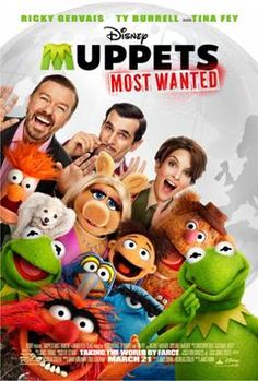 MUPPETS MOST WANTED New Movie Trailer #MuppetsMostWanted | MyCouportiera