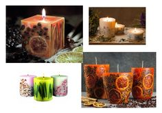 Fare le candele decorate, un'idea regalo per Natale!!!