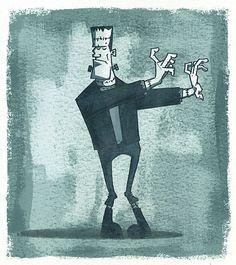 Frankenstein's Monster - By Rory Phillips