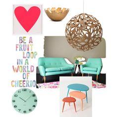 color mania! by maritpolaris on Polyvore featuring polyvore interior interiors interior design home home decor interior decorating David Trubridge Rojo16 Karlsson
