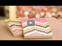 How to Make DIY Paper Notepads || KIN DIY - New Kin Community Food DIY & Style videos Monday & Saturday! See SeaLemon & SoniasTravels' travel wallets!