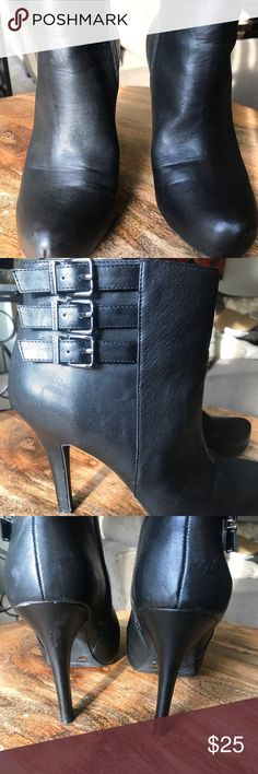 83046ecd989 Shop Women s BCBGeneration Black size 10 Ankle Boots   Booties at a  discounted price at Poshmark.