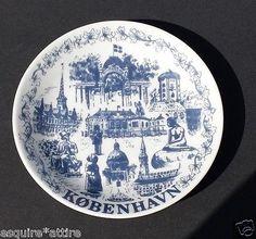 #porcelain coin plate Kobenhavn DENMARK visit our ebay store at  http://stores.ebay.com/esquirestore