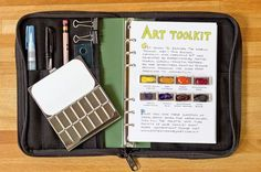 This rugged, compact, and versatile kit includes all the supplies you need to start sketching and painting, whether exploring the mountains or taking urban adventures.
