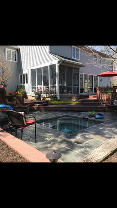New listing! Feather Cove I at Geist home, amazing backyard with built-in outdoor spa 317-874-7041 for a private showing #GeistRealty www.HomesAroundGeist.com #GeistReservoir