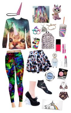 """""""I didn't choose the unicorn life the unicorn life chose me"""" by molleighderp ❤ liked on Polyvore"""