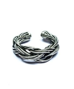 A Metal Woven Ring from Elmory is a perfect casual wear costume jewellery. This funky online finger ring shall surely add to your glamour quotient.