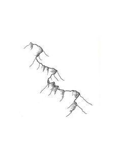 Image result for sandia mountain range sketch