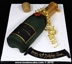 Alcohol Shaped Cakes Birthday Cake - For all your cake decorating supplies, please visit craftcompany.co.uk
