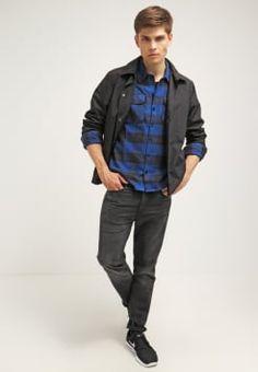 6017d08e6a05 Dickies - SACRAMENTO - Hemd - blue Lässige Shirts Für Männer, Lässige Mode  Für Männer