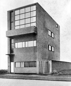 Maison Guiette, Anvers, Belgique, 1926  Le Corbusier