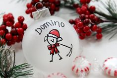 Dog Christmas Ornament - Personalized for Free - $10