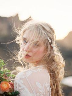 natural bridal style | matoli keely photography