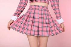 Imagem de pink, skirt, and tumblr