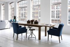 In een handomdraai kan je de tafel verlengen en zo ontstaan er extra zitplaatsen!