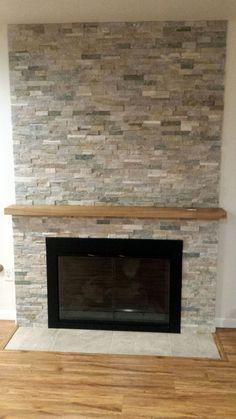 Ledgestone Fireplace Tile  Desert Quartz Ledgestone Wall Tile  For the Home  Cottage