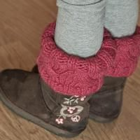 Mini Boot Candy Boot Toppers - via @Craftsy