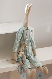 Kanin med mini kanin