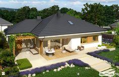 Projekt domu Flo III G1 - zdjęcie od Pracownia Projektowa ARCHIPELAG - Taras - Styl Nowoczesny - Pracownia Projektowa ARCHIPELAG
