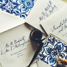 Stationery by Plume Calligraphy