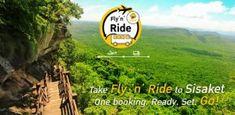 Nok Air launches Fly n Ride service between Bangkok and Si Sa Ket