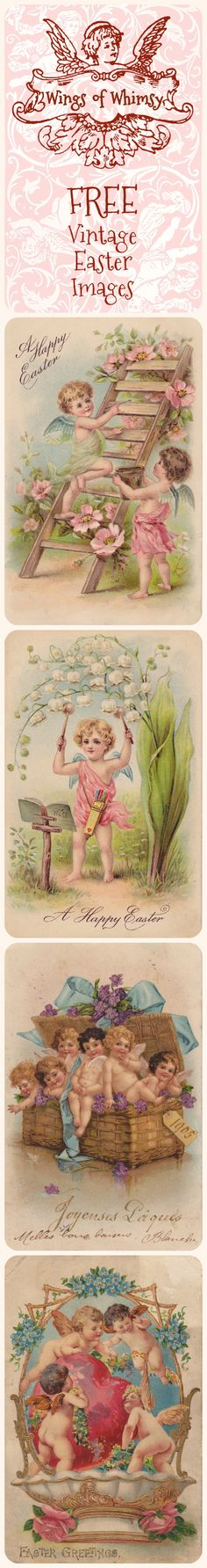 Wings of Whimsy: A Happy Easter