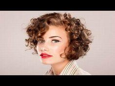 Cortes de Pelo Rizado Corto Para Mujer - YouTube
